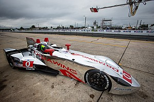 ALMS Testing report DeltaWing Racing Cars preps for Sebring