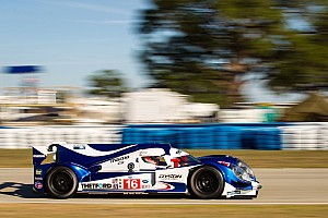 Leitzinger placed Dyson Racing's Lola Mazda sixth on the Sebring 12 hour grid