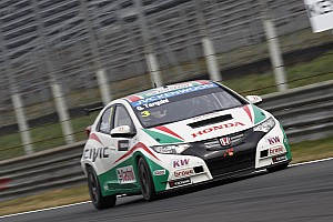 WTCC Qualifying report Tarquini fifth fastest in qualifying at Monza
