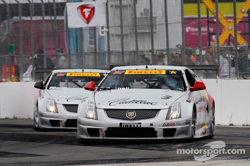 O'Connell and Pilgrim third and fifth in race two for Team Cadillac at St. Pete