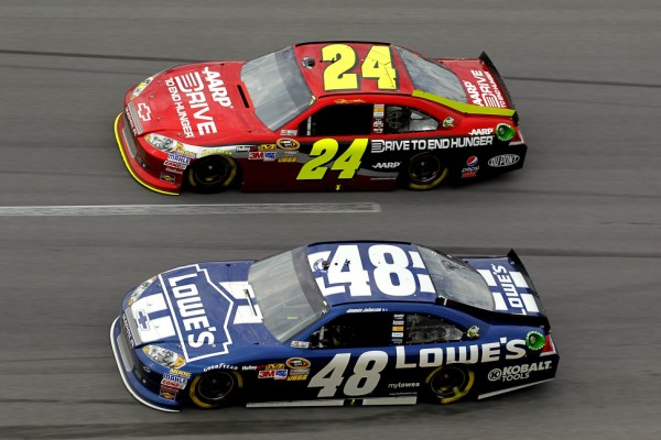 Gordon and Johnson are always favorites at Martinsville