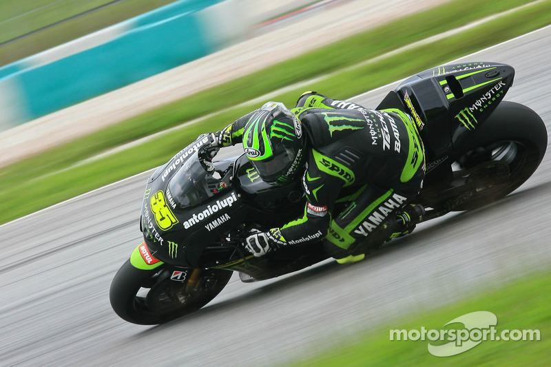 Crutchlow stars on opening night in Qatar on his Tech 3 YZR-M1
