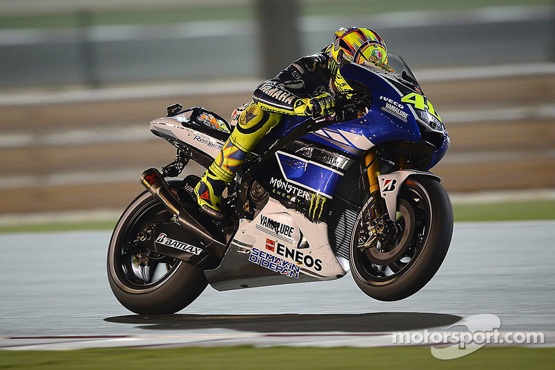 Yamaha stay on the pace in Qatar on Friday practice