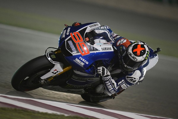 Lorenzo smashes the opposition in season opener in Qatar