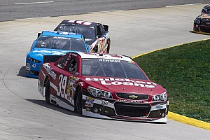 NASCAR Sprint Cup Race report Newman's strong run at Martinsville 500 thwarted by flat tires