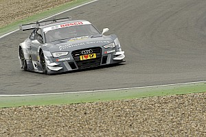 DTM Testing report Successful dress rehearsal for Audi RS 5 DTM at Hockenheim