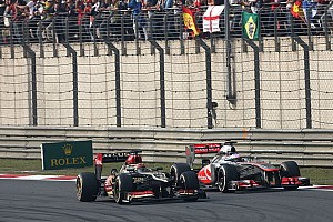 Raikkonen takes second position in thrilling Chinese GP - Renault