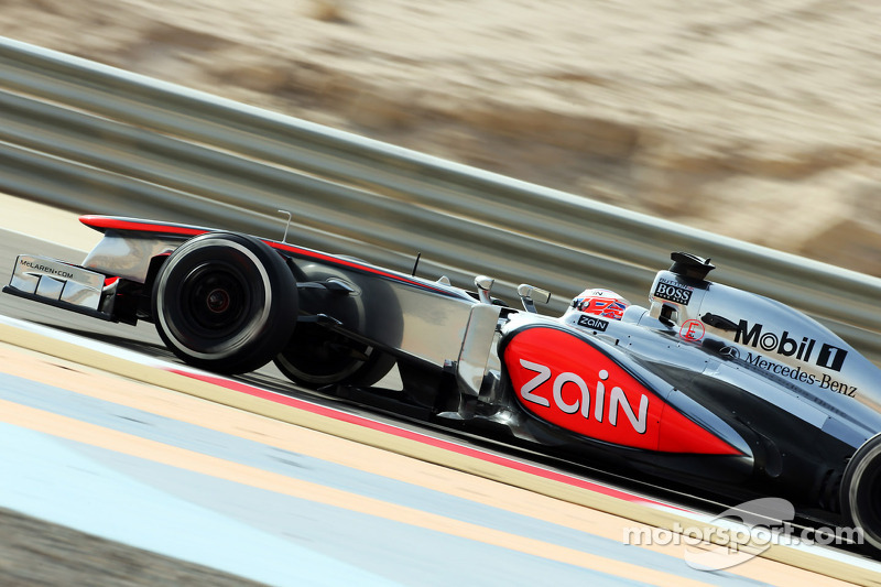 Friday sessions were very useful for McLaren at Sakhir Circuit