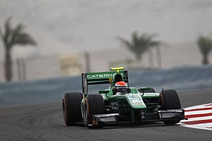 GP2 Race report Rossi on the podium in first of two races at Sakhir