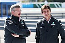 Brawn staying Mercedes team boss - Wolff