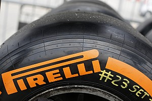 Pirelli tweaks only 'hard' compound tyre