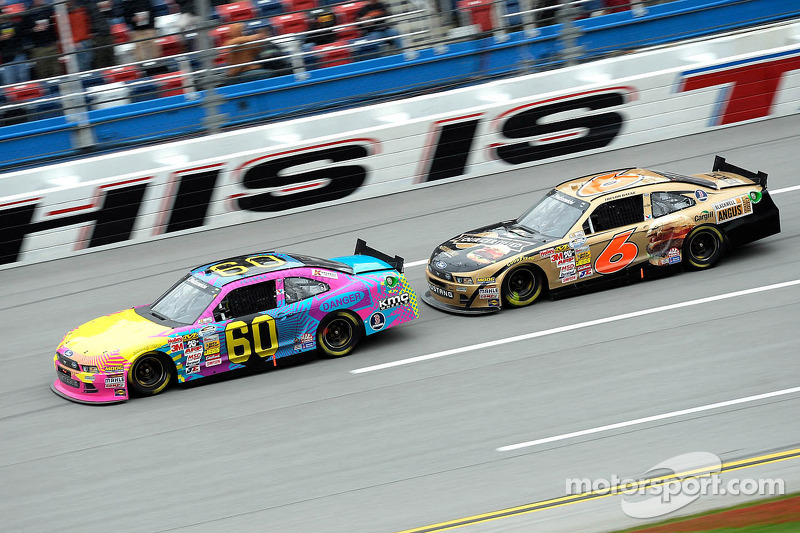Pastrana finishes 36th after a wreck in Talladega