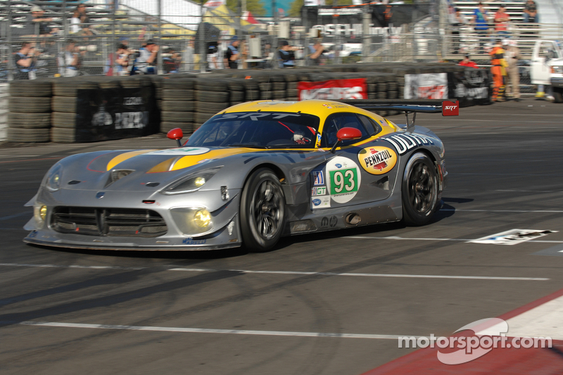 SRT Motorsports Viper race advance for the Round 3 at Laguna Seca
