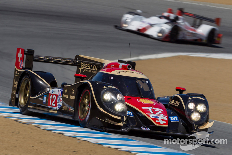 Jani and Rebellion Racing takes Monterey pole