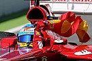 Alonso almost penalised for flag waving breach
