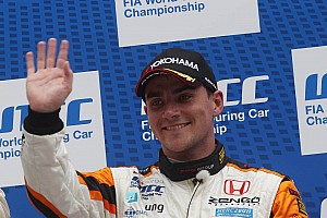 WTCC Race report Podium and points reward for Honda at Salzburgring