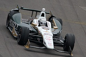 IndyCar Practice report Fast and quick for Carpenter on Carb Day friday