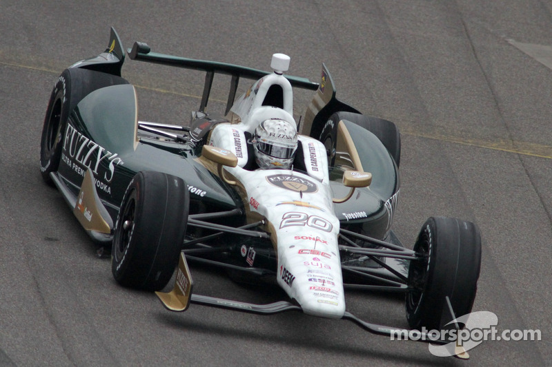 Fast and quick for Carpenter on Carb Day friday