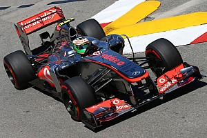 McLaren shows good performance in qualifying for the Monaco GP