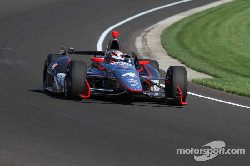 Panther leaves 97th Indianapolis 500 with Bell in 27th and Hildebrand 33rd