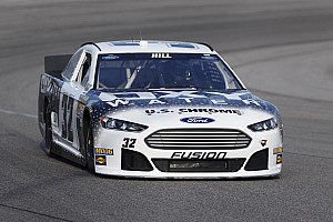 NASCAR Sprint Cup Race report FAS Lane Racing's Hill survive for 27th place finish in Charlotte