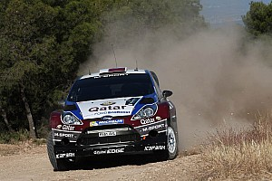 WRC Leg report Novikov flies to Acropolis rally lead