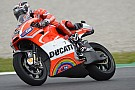 Dovizioso on front row at home Italian GP, Hayden eighth