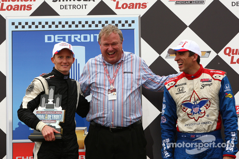 Dale Coyne Racing on top in Detroit