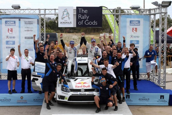 Latvala grabs his first win with VW in Greece; Kubica bags his first WRC 2 victory