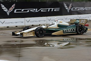 IndyCar Race report Carpenter survives wild Belle Isle slugfest to place 15th Sunday