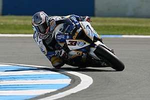 World Superbike Race report Melandri and Laverty share the wins in Portimao