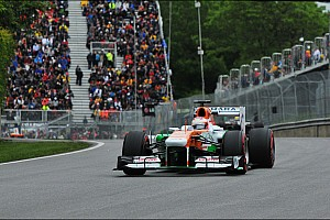 Formula 1 Race report Sahara Force India celebrated its 100th race with points in Canada