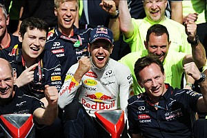 Formula 1 Breaking news Sebastian Vettel extends contract with Infiniti Red Bull Racing