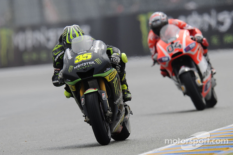 Crutchlow fastest Yamaha in Catalunya qualifying