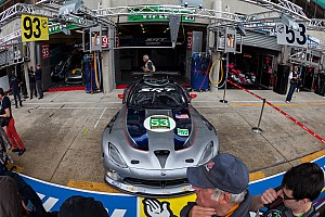 First qualifying practice session quotes by SRT Motorsports