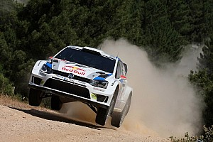 WRC Qualifying report Latvala fastest at Sardinia qualifying