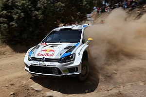 WRC Leg report A cool result in hot conditions: Ogier and Volkswagen in the lead in Italy