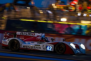 Le Mans Breaking news Nissan power holding strong on a sad day for racing