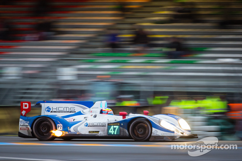 Ho-Pin Tung had to retire after two third of the 24 hours of Le Mans