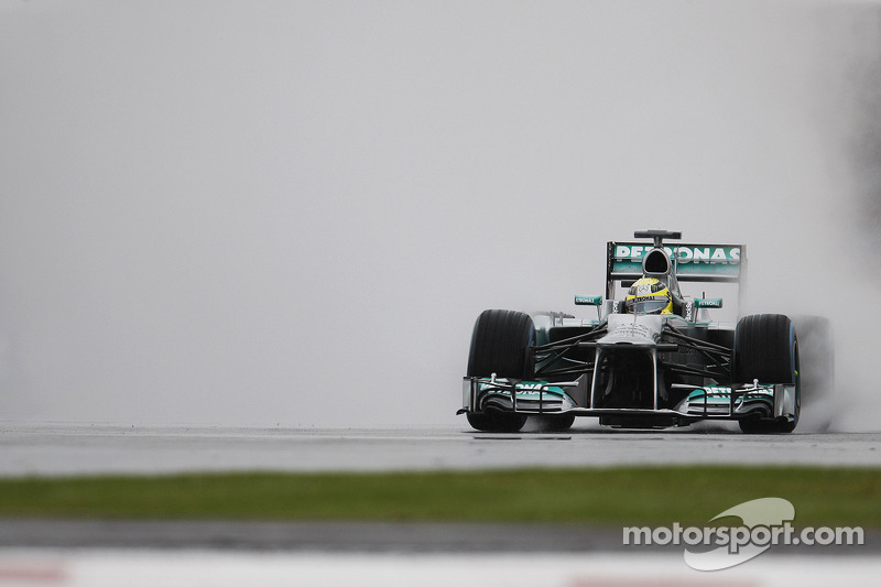 Best time for Rosberg, Hamilton is fifth on Friday practice at Silverstone