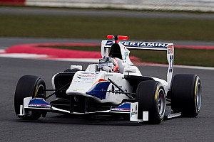 GP3 Race report Venturini victorious in Silverstone Race 2