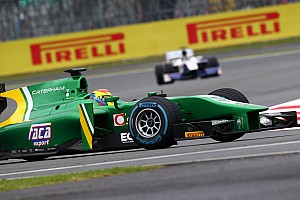GP2 Race report An incident halts Canamasas progress