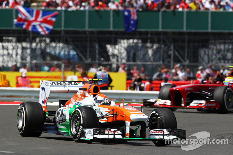 Sahara Force India delivered strong race performance on British GP