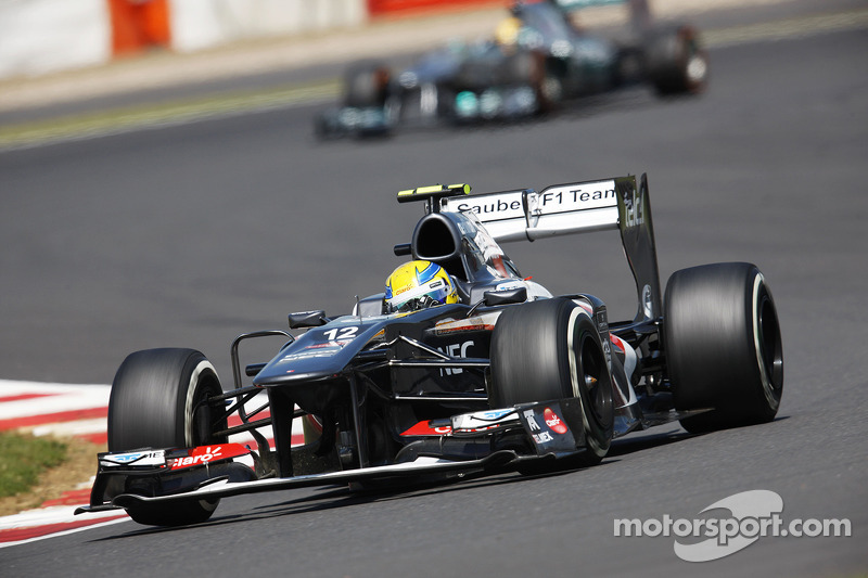 First time at Nurburgring for both Sauber drivers this weekend