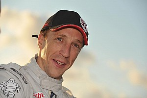 Kris Meeke with Abu Dhabi Citroen Total WRT in Finland