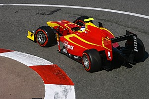 GP2 Qualifying report 6th for Fabio Leimer and Racing Engineering in today's qualifying at the Nürburgring
