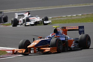 GP2 Race report Lancaster powers to sprint win