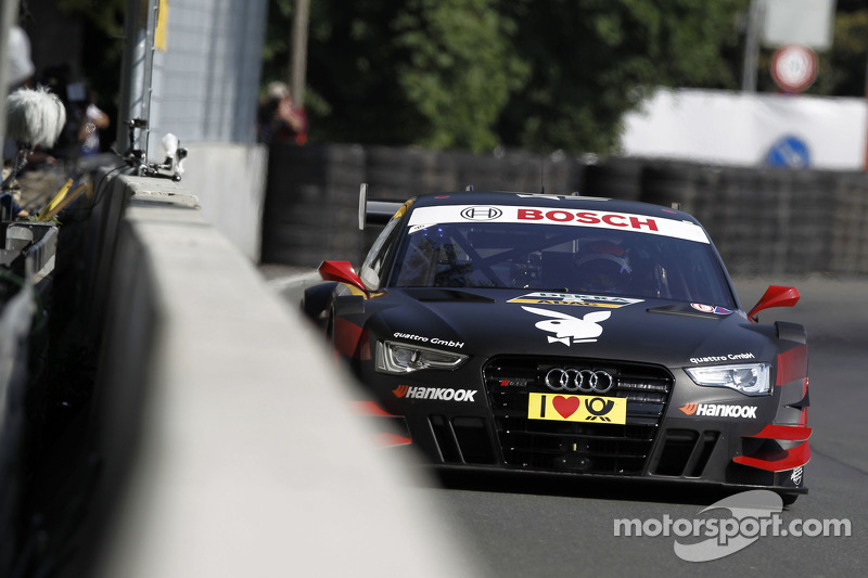 Mortara gives Audi fans reason for hope at the Norisring