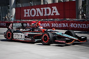 IndyCar Race report Panther's Munoz impresses at street course debut in Toronto