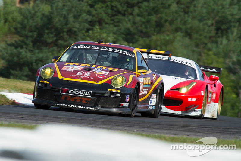 NGT Motorsport's strong challenge for victory turned to heartbreak at Mosport